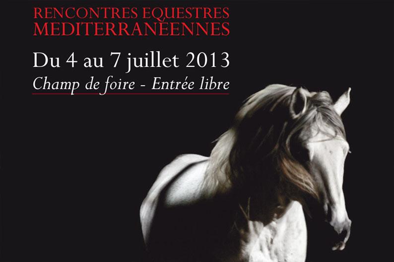 Beaucaire : Rencontres Equestres Méditerranéennes